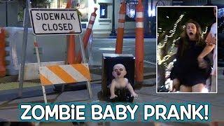 Zombie Baby Scare Prank!
