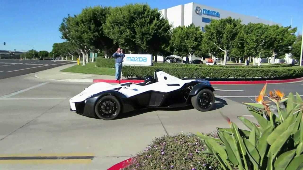 Bac Mono U S Unveiling At Cars Coffee Youtube