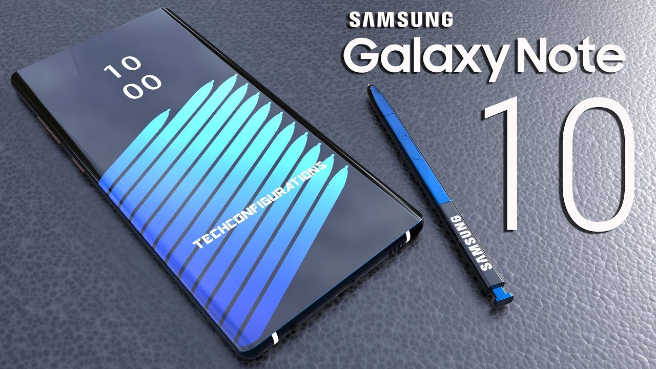Samsung Galaxy Note 10 Introduction Concept Design The Iphone Xs