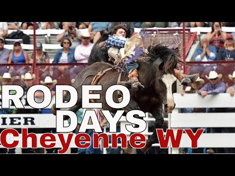 CHEYENNE FRONTIER DAYS | RODEO HIGHLIGHTS 4K