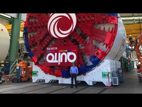El Metro de Quito Ecuador será la red subterránea - En construcción 2017