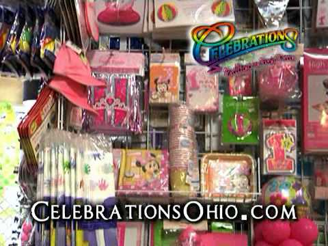 Celebrations ~ Party Supplies ~ Balloons ~ Decorations