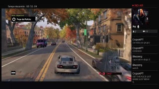Transmissão ao vivo da PS4 Watch Dogs