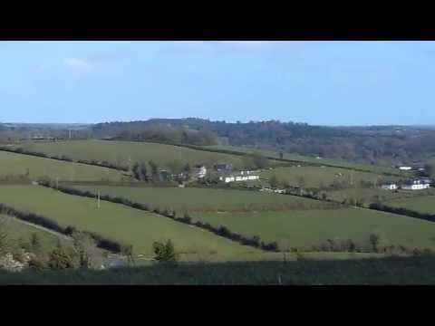 Top of a hill in Magheracloone County Monaghan Ireland