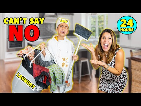 CAN'T Say NO To My MOM For A WHOLE DAY!! (Mother's Day Edition) | The Royalty Family