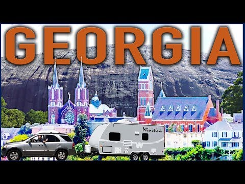 Georgia RoadTrip: Macon and Stone Mountain Park RV Living in