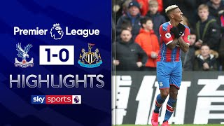 Van Aanholt free kick gives Palace much needed win | Crystal Palace 1-0 Newcastle | EPL Highlights