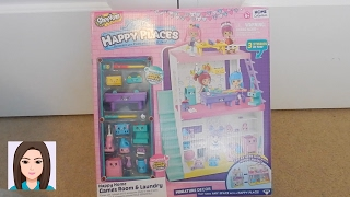 Shopkins Happy Places Happy Home Games Room & Laundry Review