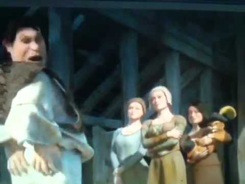 Shrek Turns Human - YouTube