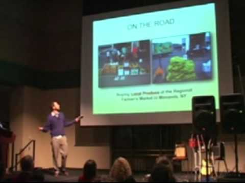 Mobile Markets as Vehicles for Nutritional Equality: EJ Krans at TEDxAlbany 2010