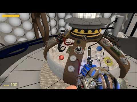 The War Doctor's Tardis (Garry's Mod)