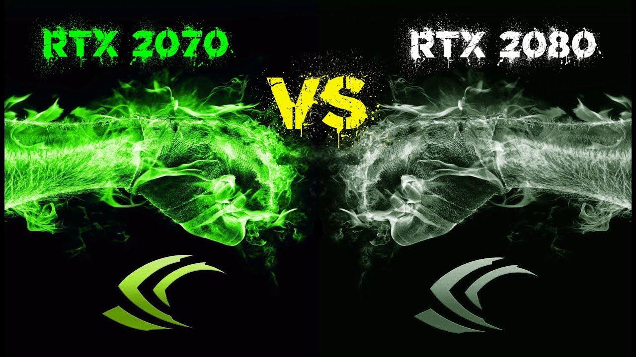 RTX 2070 vs RTX 2080 #12 games
