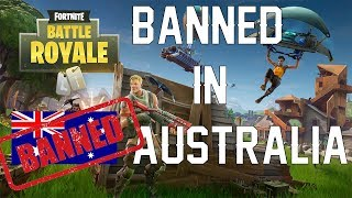 Fortnite Battle Royale - Getting Banned in Australia!