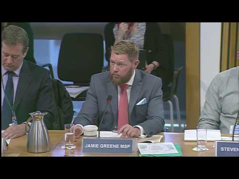 Jamie Greene MSP discusses potential for agriculture trade post-Brexit.