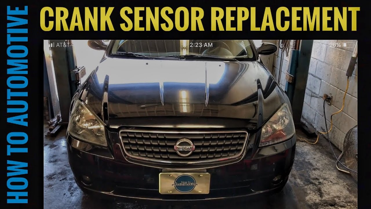 How To Replace The Crankshaft Position Sensor On A 2001 2006