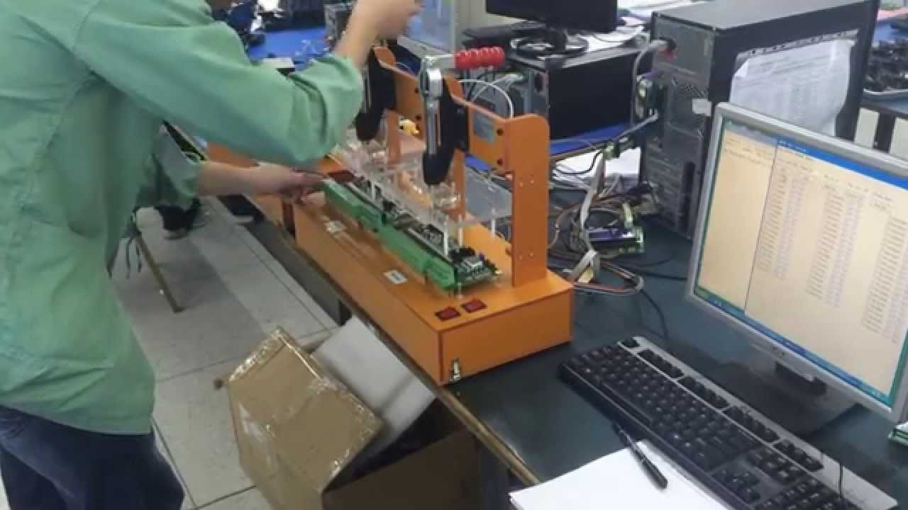 Test Jig For Pcb Assembly Board Testing Youtube