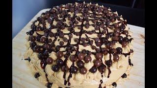 How to Make A Mocha-Chocolate Cake, super easy!