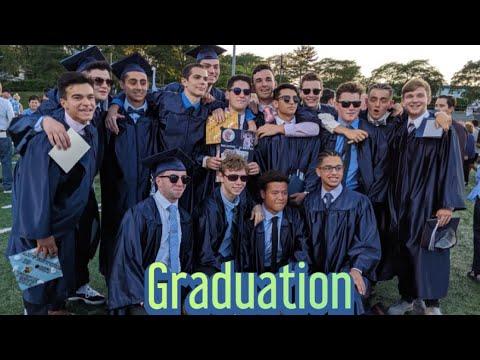 Graduating from Waldwick High School 2019