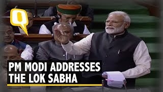 PM Modi Addresses the Lok Sabha