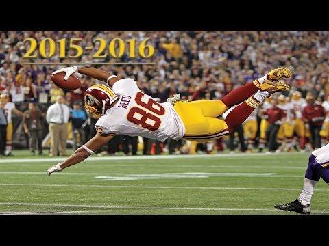 "Jordan Reed Redskins Highlights (2015-2016) ᴴᴰ || ""A Star is Born"""