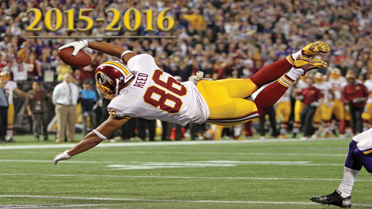 """Jordan Reed Redskins Highlights 2015 2016 á´´á´° """"A Star is"""