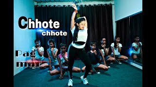 CHHOTE CHHOTE PAG|Yo yo Honey Singh| Neha Kakkar| dance choreography|sunanda nrityangan