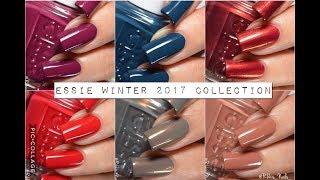 Swatches || Essie Winter 2017 Collection | Rikki's Nails