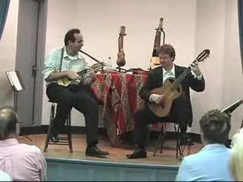 Instrumental Folk Music in Charango (Guitar)