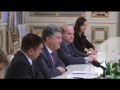 Ukraine Energy Reform: Poroshenko discusses European Energy Union plans