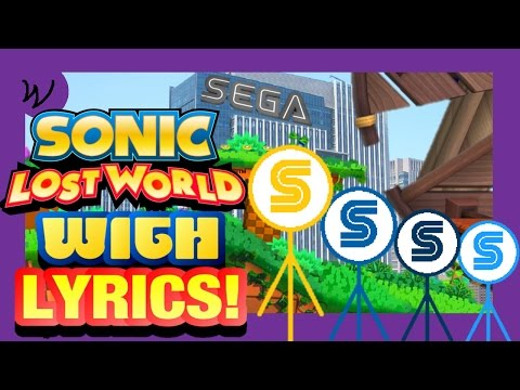 VG With Lyrics | Sonic Lost World - Windy Hill: Zone 1