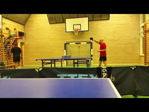 20150924 Practice match, set 3 and 4 w/ Anti