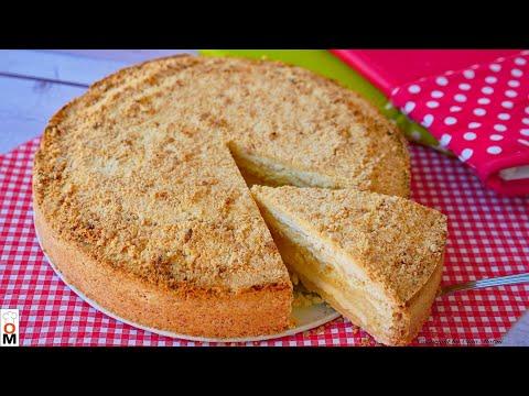 Венгерский насыпной пирог в мультиварке