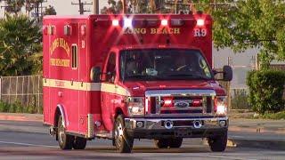 Long Beach Fire Dept. Rescue 9 (x2)
