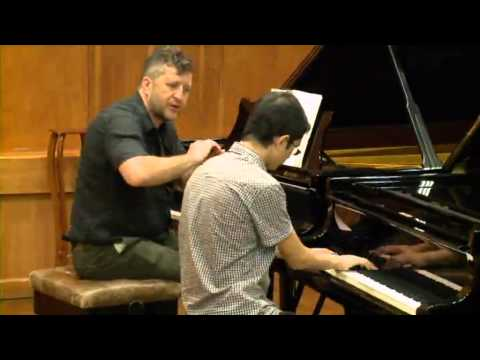 Masterclass with Thomas Ades (Ariel Lanyi, piano)
