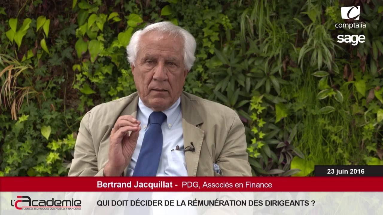Les Entretiens de l'Académie : Bertrand Jacquillat
