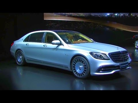 2018 Mercedes-Benz S-Class World Premiere Auto Shanghai 2017
