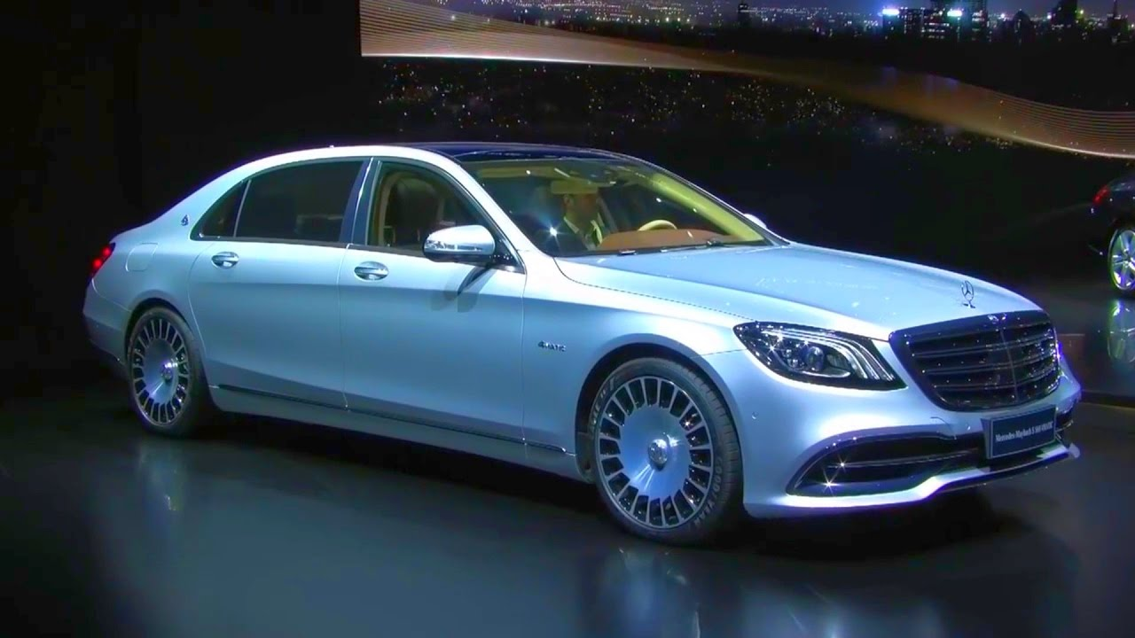 2018 Mercedes Benz S Cl World Premiere Auto Shanghai 2017