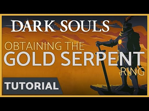 Dark Souls: How to get the Covetous Gold Serpent Ring ...