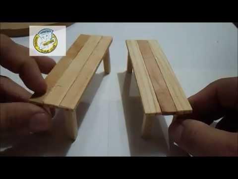 Como hacer mesas para diorama by fusca antonio maketuning for Sillas para armar y recortar