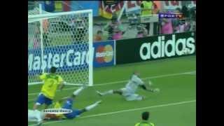Copa das Confederações 2005 - campanha completa da seleção brasileira - Brasil campeão