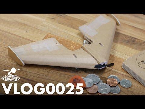 TINY DIY RC PLANE   VLOG0025