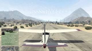 GTA 5 online. Как научиться летать на самолете.