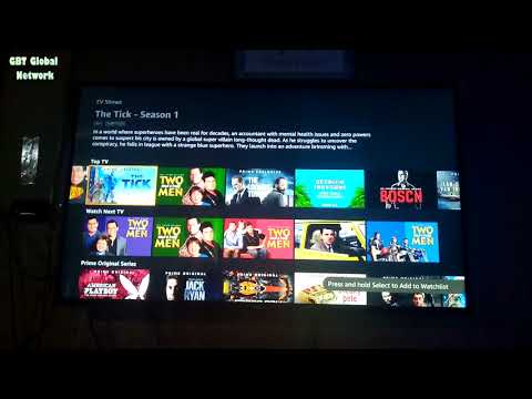 Amazon Prime video on  Apple TV