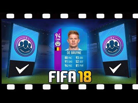 FIFA 18 SBC Premier League KEVIN DE BRUYNE 94 + Pack Opening 💥