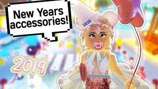 HOW TO GET ALL NEW YEARS ACCESSORIES AND LOTS OF DIAMONDS 💎 // Roblox Royale High School Update