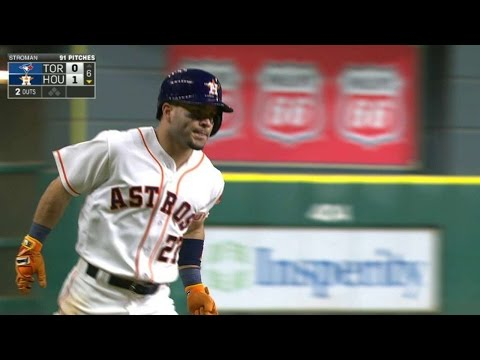 TOR@HOU: Altuve drills a solo home run to...