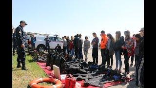 Рятувальники Донеччини провели пізнавальний спортивний квест із дітьми