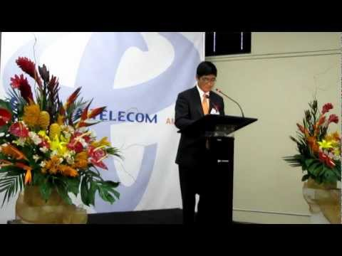 China Telecom Americas President Donald Tan Opens new LA Data Center