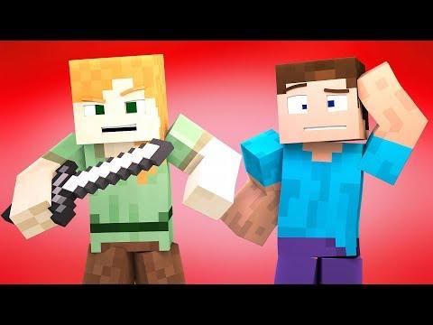 Minecraft Blender Character Rig FREE(DOWNLOAD IN DESC.) ZAMination Rig