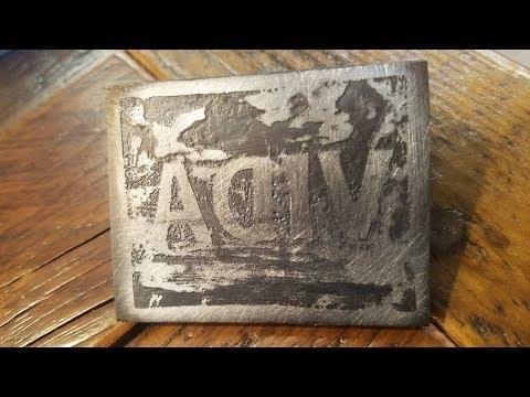 DIY wood branding stamp   FAIL!